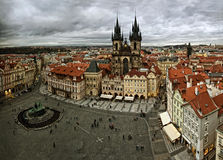 View of old Prague stock image
