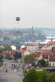 The view of old Prague from Chotkovy garden Stock Photography