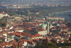 View on the old Prague, Czech Republic Royalty Free Stock Photo