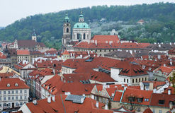 View of the old Prague. Royalty Free Stock Photography