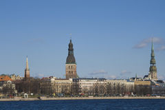 View on Old Riga Stock Photo