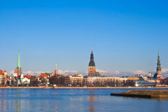 View of Old Riga, Latvia Stock Images