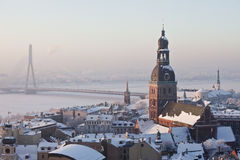 View of Old Riga, Latvia Royalty Free Stock Images