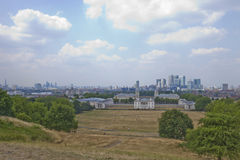 View of Old Royal Naval College, Greenwich, London Royalty Free Stock Photo