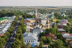 View of the old Russian town of Suzdal. Golden Ring, Russia Stock Images