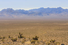 View from old Spanish Trail Highway, Nevada, USA Stock Image