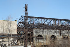 View of the Old Steel Works Royalty Free Stock Photography