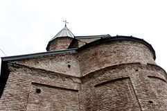 View of the Old Stone Orthodox church Royalty Free Stock Photo