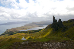 View from Old Storr Stock Image