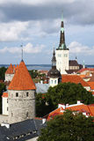 View of old Tallinn, Estonia Stock Images