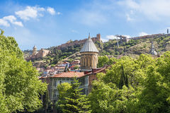 View of the old Tbilisi Stock Images