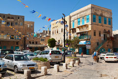 View on old town of Akko Royalty Free Stock Images