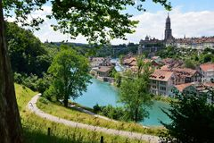 View of the old town of Bern Royalty Free Stock Photos