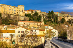 View of the old town of Beziers Royalty Free Stock Image
