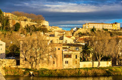 View of the old town of Beziers Royalty Free Stock Photo