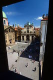 View from Old Town bridge tower. Prague. Czech Republic Stock Photography