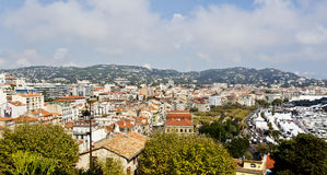 View of the old town of Cannes Stock Images