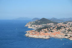 View of old town in Dubrovnik Stock Photos