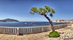 View on old town in Dubrovnik Stock Photo