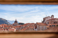 View of an old town dubrovnik Stock Photos