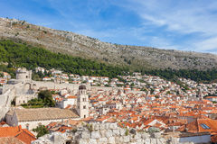 View of an old town dubrovnik Stock Photo