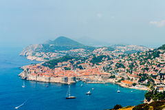 View of the old town of Dubrovnik Royalty Free Stock Photography