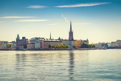 View of the Old Town or Gamla Stan in Stockholm, Sweden Stock Photography