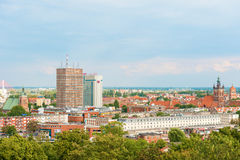 View at old town in Gdansk, Poland. Stock Photography