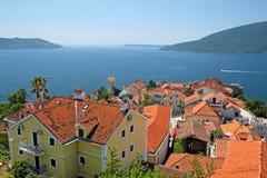 View of old town Herceg Novi, Montenegro Stock Image