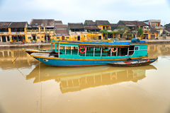 View on the old town of Hoi An. Vietnam Royalty Free Stock Images