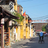 View of the Old Town in Hoi an, Vietnam Stock Image