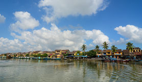 View of Old town in Hoi An, Vietnam Royalty Free Stock Photo