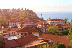 A view of Old town Kaleici in Antalya Stock Images