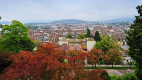View of old town Lucerne in Switzerland Royalty Free Stock Images
