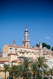 View of old town, Menton Royalty Free Stock Photo