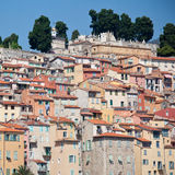 View of old town, Menton Stock Photography