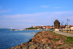 View of Old Town of Nesebar Royalty Free Stock Photos