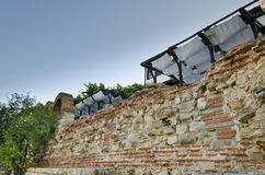 View of the Old town of Nesebar Stock Images