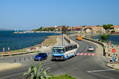 View on old town of Nessebar, Bulgaria Stock Photography
