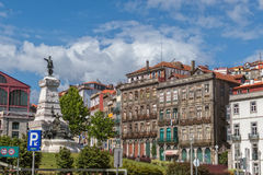 View of old town of Porto, Portugal , 23. may 2014, city Porto o Stock Photo