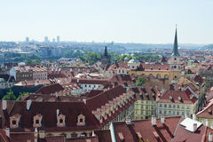 A view of Old Town Prague Royalty Free Stock Photos
