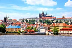 View of the old town of Prague Royalty Free Stock Photos