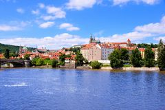 View of the old town of Prague Royalty Free Stock Photography