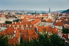 View of Old town Prague Stock Photos