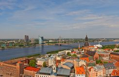 View of Old Town. Riga, Latvia Stock Photo