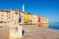 View on old town in Rovinj, Istria, Croatia Royalty Free Stock Photography
