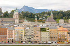 View of the Old town. Salzburg. Austria Royalty Free Stock Image