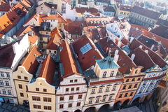 View of old town square in Prague Stock Images