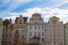 View of old town square in Prague. Royalty Free Stock Image