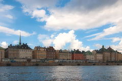 View of the old town of Stockholm. Royalty Free Stock Image